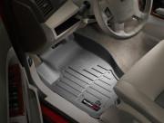 Jeep Grand Cherokee 2005-2010 - Коврики резиновые с бортиком, передние, черные (WeatherTech) фото, цена
