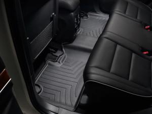 Jeep Grand Cherokee 2011-2017 - Коврики резиновые с бортиком, задние, черные (WeatherTech) фото, цена