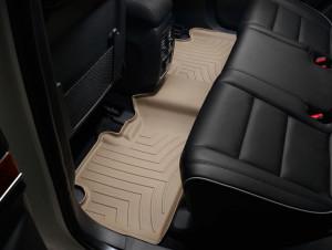 Jeep Grand Cherokee 2011-2019 - Коврики резиновые с бортиком, задние, бежевые (WeatherTech) фото, цена