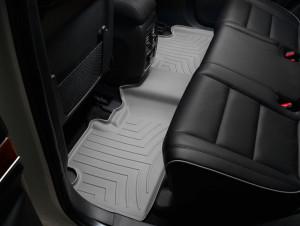 Jeep Grand Cherokee 2011-2019 - Коврики резиновые с бортиком, задние, серые (WeatherTech) фото, цена