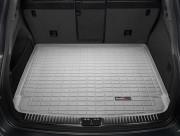Porsche Cayenne 2011-2016 - Коврик резиновый в багажник(Без сабвуфера), серый (WeatherTech) фото, цена