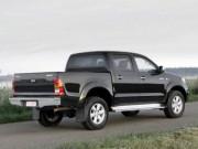 Toyota Hilux 2011-2015 - Расширители колесных арок, к-т 8 шт, черные (EGR) фото, цена