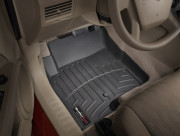 Jeep Compass 2008-2016 - Коврики резиновые с бортиком, передние, черные (WeatherTech) фото, цена