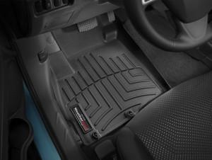 Mitsubishi Outlander 2007-2015 - Коврики резиновые с бортиком, передние, черные (МКПП) (WeatherTech) фото, цена