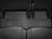 Mitsubishi Outlander 2013-2015 - Коврики резиновые с бортиком, задние, 3 ряд, черные (WeatherTech) фото, цена