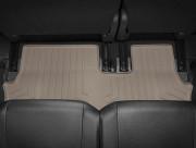 Mitsubishi Outlander 2013-2015 - Коврики резиновые с бортиком, задние, 3 ряд, бежевые (WeatherTech) фото, цена