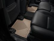 Volvo XC 90 2003-2015 - Коврики резиновые, задние, 2 ряд, бежевые (WeatherTech) фото, цена