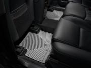 Volvo XC 90 2003-2015 - Коврики резиновые, задние, 2 ряд, серые (WeatherTech) фото, цена