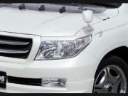 Toyota Land Cruiser 2008-2012 - Реснички на фары, комплект 2 шт. (UA) фото, цена