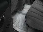 Hyundai Santa Fe 2006-2010 - Коврики резиновые с бортиком, задние , серые (WeatherTech) фото, цена