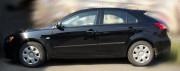 Mitsubishi L 200 2006-2013 - Молдинги резиновые, черные к-т 8 шт (Germany) фото, цена