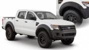 Ford Ranger 2011-2018 - Расширители колесных арок, Pocket Style, к-т 4 шт (Bushwacker) фото, цена
