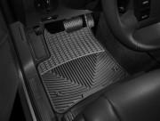 Porsche Cayenne 2003-2010 - Коврики резиновые, передние, черные (WeatherTech) фото, цена