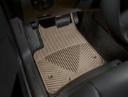 Porsche Cayenne 2003-2010 - Коврики резиновые, передние, бежевые (WeatherTech) фото, цена