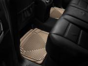 Porsche Cayenne 2003-2010 - Коврики резиновые, задние, бежевые (WeatherTech) фото, цена
