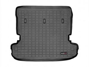Mitsubishi Pajero 2007-2014 - Коврик резиновый в багажник, черный (WeatherTech) фото, цена