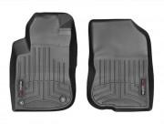 Peugeot 208 2012-2016 - Коврики резиновые с бортиком, передние, черные (WeatherTech) фото, цена