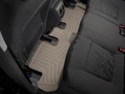 Peugeot 3008 2009-2016 - Коврики резиновые с бортиком, задние, бежевые (WeatherTech) фото, цена