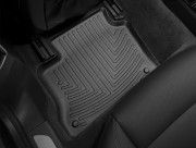 Porsche Panamera 2010-2017 - Коврики резиновые с бортиком,задние, черные (WeatherTech) фото, цена