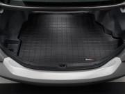 Renault Megane 2008-2014 - Коврик резиновый в багажник, черный (WeatherTech) фото, цена