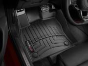 Seat Leon 2013-2014 - Коврики резиновые с бортиком,передние, черные (WeatherTech) фото, цена