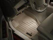 Jeep Grand Cherokee 2005-2010 - Коврики резиновые с бортиком, передние, бежевые (WeatherTech) фото, цена