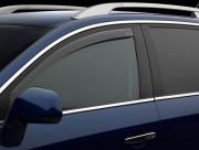 Volvo XC 60 2008-2014 - Дефлекторы окон (ветровики), передние, светлые. (WeatherTech) фото, цена