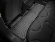 Tesla Model S 2012-2019 - Коврики резиновые с бортиком, задние, черные. (WeatherTech) фото, цена