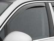 Porsche Cayenne 2010-2015 - Дефлекторы окон (ветровики), передние, светлые (WeatherTech) вставные фото, цена