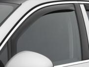 Porsche Cayenne 2010-2015 - Дефлекторы окон (ветровики), передние, темные (WeatherTech) вставные фото, цена