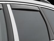 Porsche Cayenne 2010-2015 - Дефлекторы окон (ветровики), задние, светлые (WeatherTech) вставные фото, цена
