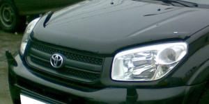 Toyota Rav 4 2000-2004 - Дефлектор капота, темный. (EGR) фото, цена
