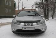 Honda Civic 2006-2012 - Дефлектор капота(мухобойка).(Htb). (VIP Tuning) фото, цена
