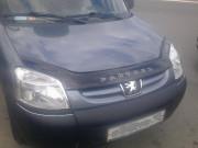 Peugeot Partner 2002-2012 - Дефлектор капота (мухобойка), VIP Tuning фото, цена