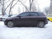Mazda 3 2003-2008 - (H/B) - Дефлекторы окон (ветровики), комлект. (Cobra Tuning) фото, цена