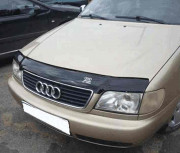 Audi A6 1994-1996 - Дефлектор капота (мухобойка), VIP Tuning фото, цена
