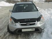 Honda CR-V 2002-2006 - Дефлектор капота (мухобойка), VIP Tuning фото, цена