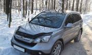 Honda CR-V 2007-2012 - Дефлектор капота (мухобойка), VIP Tuning фото, цена
