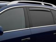 Volvo XC 60 2008-2015 - Дефлекторы окон (ветровики), задние, светлые. (WeatherTech) фото, цена