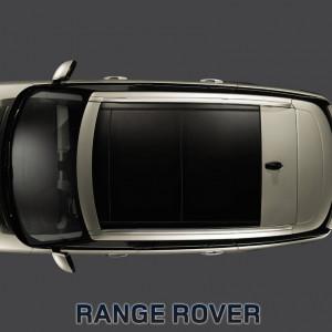 Land Rover Range Rover 2013-2015 - Рейлинги продольные, к-т 2 шт, cерые (LR) фото, цена
