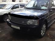 Land Rover Range Rover 2002-2011 - Дефлектор капота (мухобойка), темный. (SIM) фото, цена