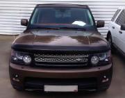 Land Rover Range Rover Sport 2009-2013 - Дефлектор капота (мухобойка), темный. (SIM) фото, цена