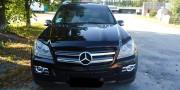 Mercedes-Benz GL 2005-2012 - Дефлектор капота (мухобойка), темный (SIM) фото, цена