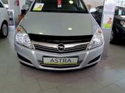 Opel Astra H 2004-2009 - Дефлектор капота (мухобойка), темный. (SIM) фото, цена