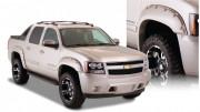 Chevrolet Avalanche 2007-2013 - Расширители колесных арок, к-т 4 шт (Bushwacker) Pocket  Style. фото, цена