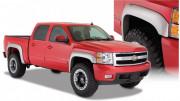 Chevrolet Silverado 2007-2015 - Расширители колесных арок, к-т 4 шт (Bushwacker) Exstend A Style фото, цена