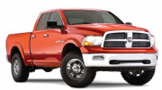 Dodge Ram 2009-2015 - Расширители колесных арок, к-т 4 шт (Bushwacker) Exstend A Style фото, цена