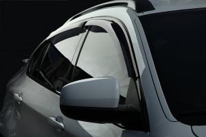 BMW X6 2008-2014 - Дефлекторы окон (ветровики), к-т 4 шт, темные. SIM фото, цена