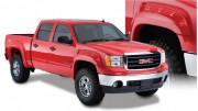 GMC Sierra 2007-2013 - Расширители колесных арок, к-т 4 шт (Bushwacker) Cut-Out  Style. фото, цена