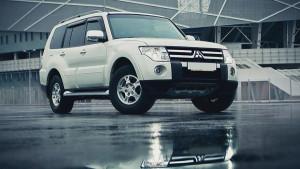 Mitsubishi Pajero 2007-2012 - Дефлекторы окон (ветровики), к-т 4 шт, темные. SIM фото, цена